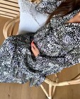 Robe noire, imprimé JoliRonde - grossesse - Joli Ronde