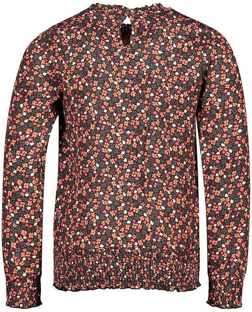 Chemises - Zwarte blouse met print Looxs