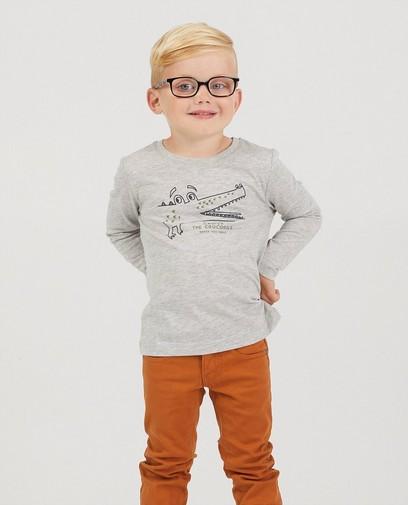 T-shirt à manches longues, imprimé BESTies