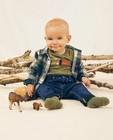 Groen hemd met ruitpatroon - allover - Cuddles and Smiles
