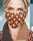 Mondmasker met print Karen Damen - veilig op straat - Karen Damen