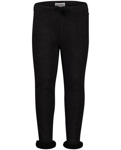 Pantalon noir avec relief