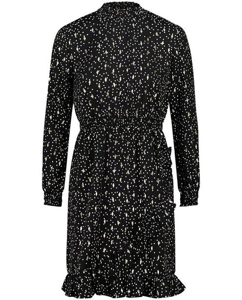 Kleedjes - Zwarte jurk met stippen Sora