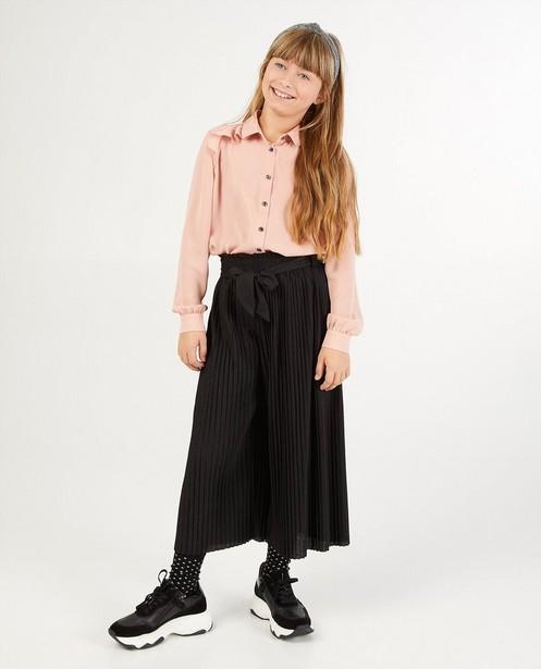 Pantalon noir plissé - à paillettes - Fish & Chips