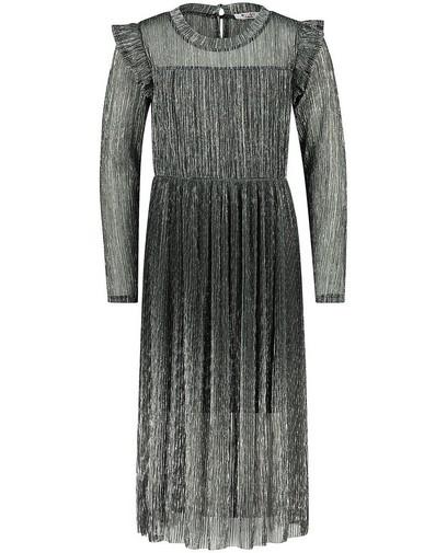Donkergrijze jurk