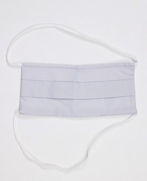 Gadgets - 2 lichtgrijze mondmaskers - unisex