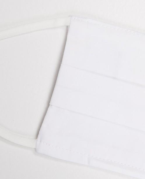 Gadgets - 2 off-white mondmaskers - unisex