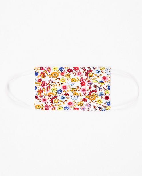 Set van 2 mondmaskers - unisex - met bloemenprint - JBC