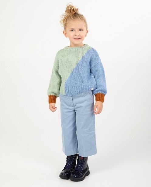 Blau-grüner Pullover, 2-7 Jahre - #familystoriesjbc - Familystories