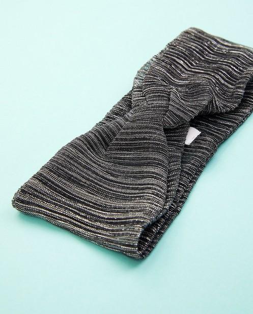 Bonneterie - Bandeau gris foncé