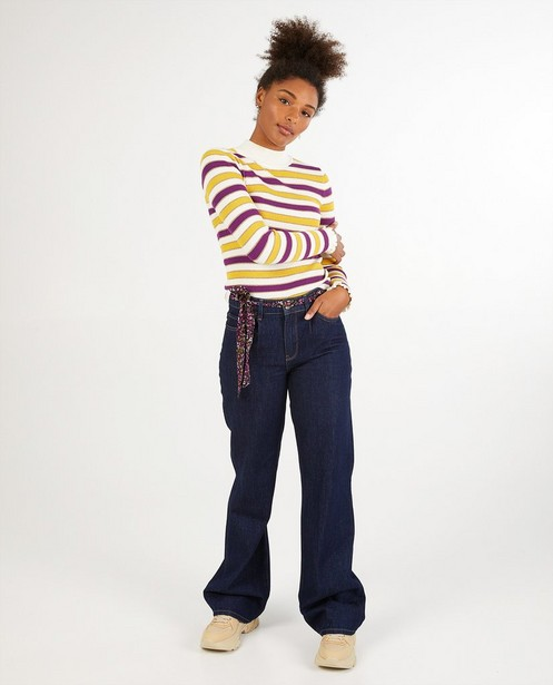 Jeans bleu foncé Karen Damen - stretch - Karen Damen