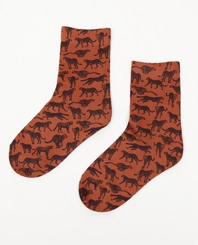 Chaussettes à imprimé animal, pointure 23-34