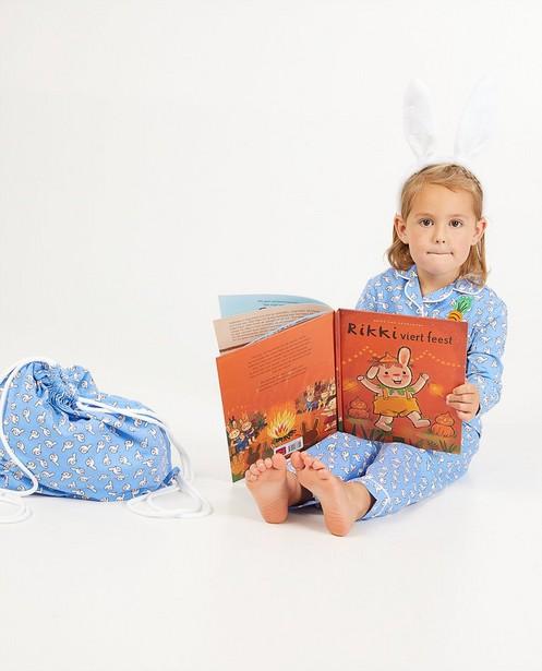 Nachtkleding - Rikki set: pyjama + boek + accessoires (NL)