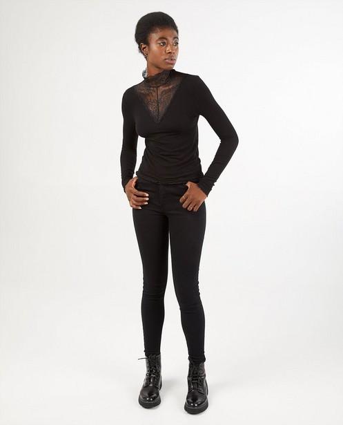 Zwarte skinny jeans Pieces - van denim - Pieces