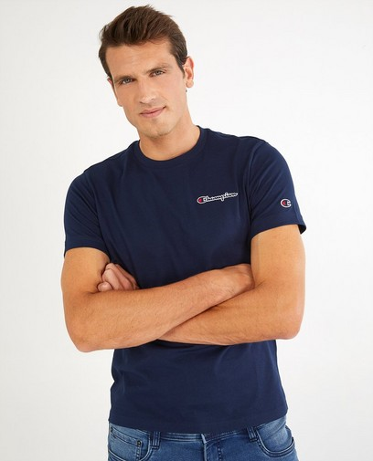 T-shirt bleu Champion