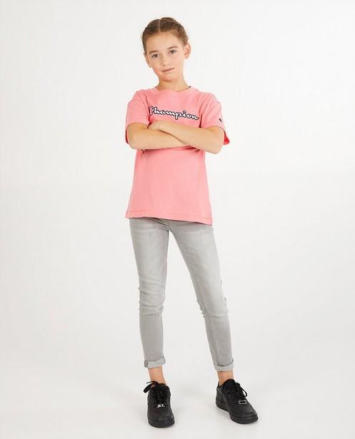 T-shirt rose Champion - custom fit - Champion