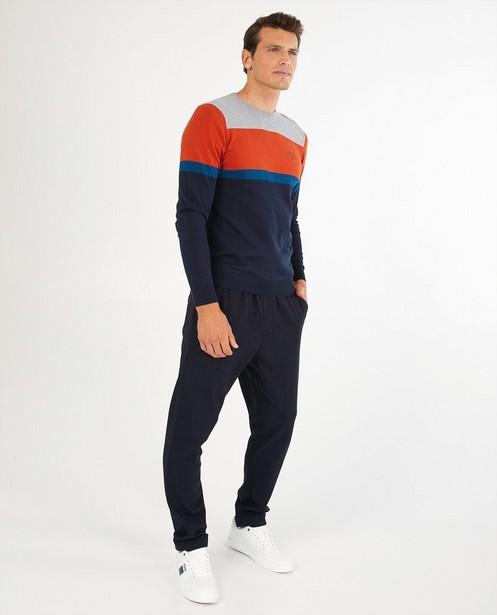 Pull avec color block Hampton Bays - en fin tricot - Hampton Bays