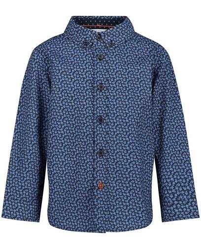 Chemise bleue à imprimé Hampton Bays