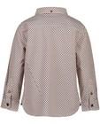 Hemden - Wit hemd met print Hampton Bays