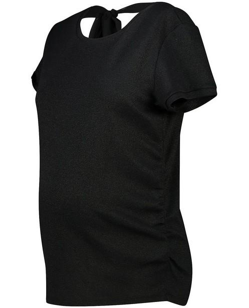 Zwart T-shirt JoliRonde - zwangerschap - Joli Ronde