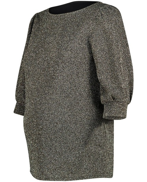 Donkergrijze blouse JoliRonde - zwangerschap - Joli Ronde