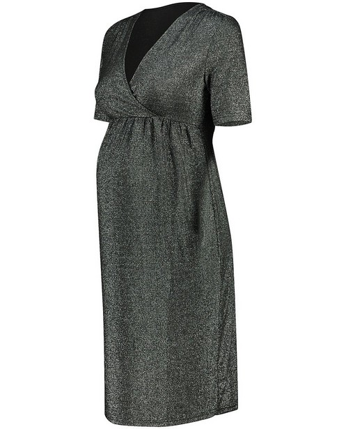 Robe gris foncé JoliRonde - grossesse - Joli Ronde