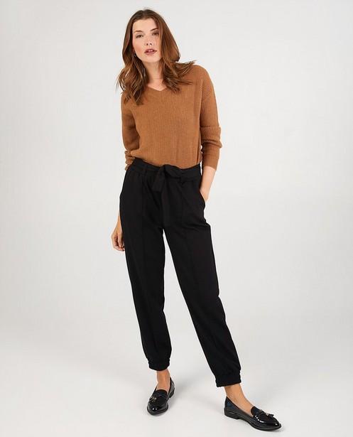 Zwarte broek Youh! - met elastische boorden - Youh!