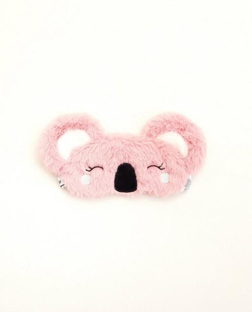Masque de nuit rose - koala - avec petites oreilles - JBC