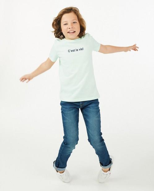 Jeans slim Simon BESTies, 7-14 ans - bleu - JBC