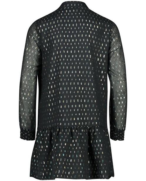 Kleedjes - Zwarte jurk met streepjes