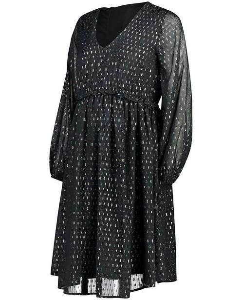 Robe avec fil métallisé JoliRonde - grossesse - Joli Ronde