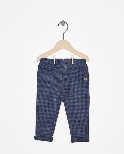 Blaue Hose mit Print