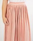 Rokken - Fluwelen rok in roze Steffi Mercie