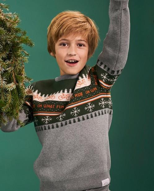 Truien - Kersttrui Baptiste, 7-14 jaar
