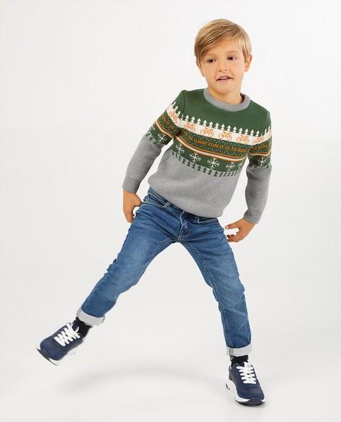 Kersttrui Baptiste, 2-7 jaar - twinning - Baptiste