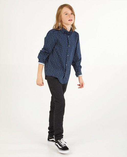 Chemise bleue à imprimé, 7-14 ans - twinning - Fish & Chips