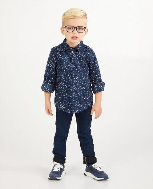Chemise bleue à imprimé, 2-7 ans - twinning - Kidz Nation