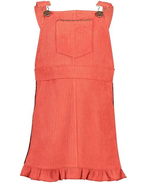Robe salopette orange Looxs - stretch - Looxs