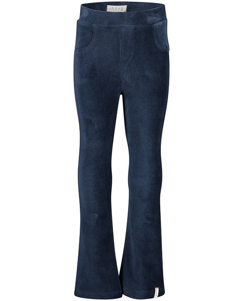 Pantalon en velours en Looxs bleu - stretch - Looxs