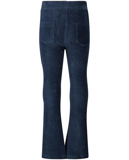 Pantalons - Fluwelen broek in blauw Looxs