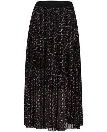 Zwarte rok met print Atelier BXL