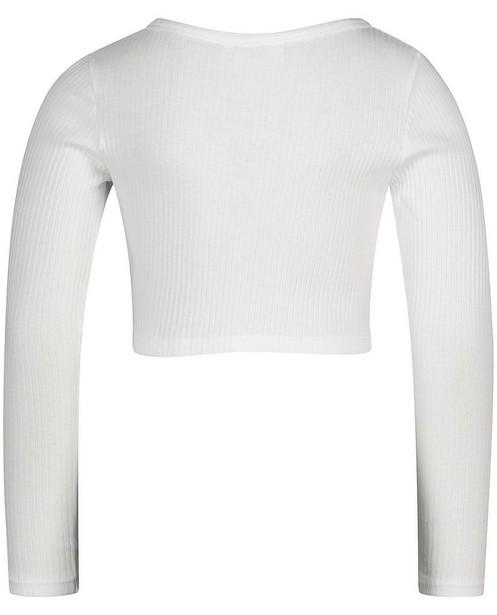 T-shirts - Witte longsleeve