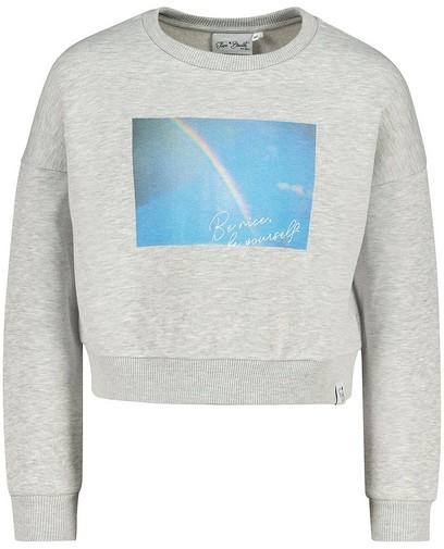 Grauer Sweater Elisa Bruart