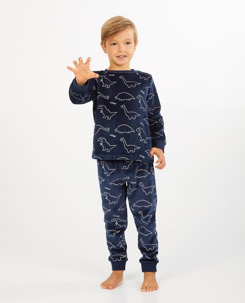 Pyjama bleu à imprimé - fleece - Kidz Nation