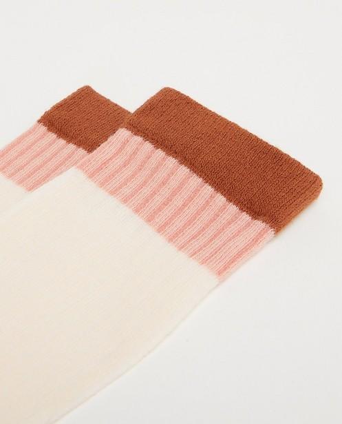 Chaussettes - Roze kniekousen K3