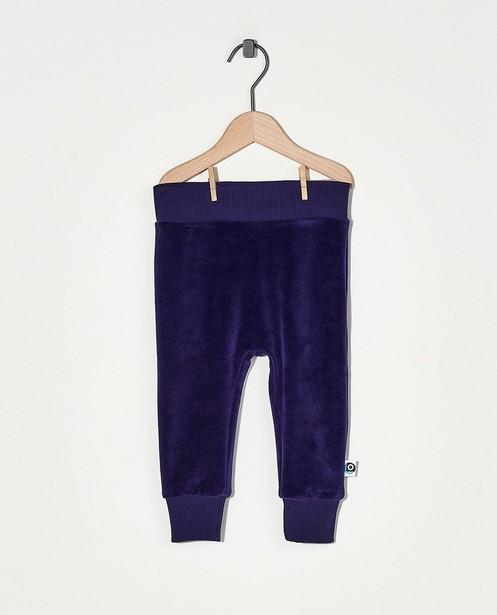 Pantalon de jogging bleu Onnolulu - en velours - Onnolulu