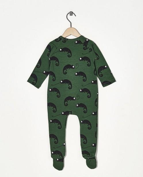 Nachtkleding - Groene pyjama Onnolulu