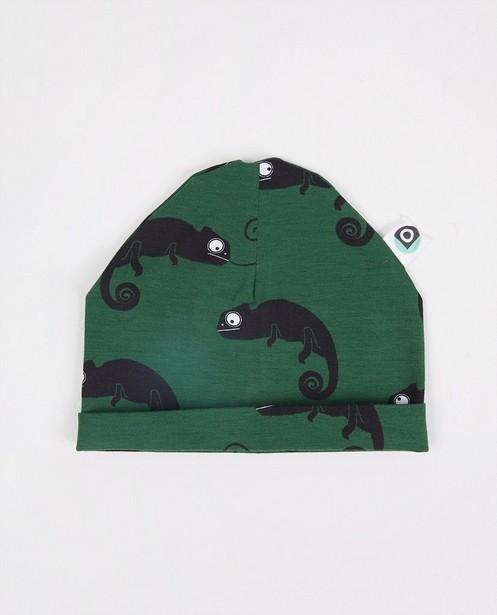 Grüne Mütze mit Print Onnolulu - Durchgehend - Onnolulu