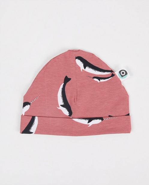 Rosa Mütze mit Print Onnolulu - Durchgehend - Onnolulu