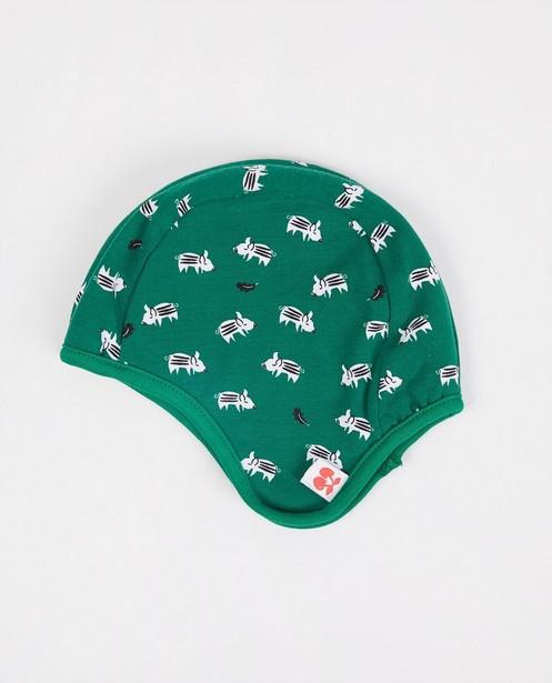 Bonnet réversible Froy & Dind - vert - Froy en Dind